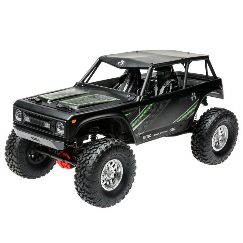 1/10 Wraith 1.9 4WD Brushed RTR, Black