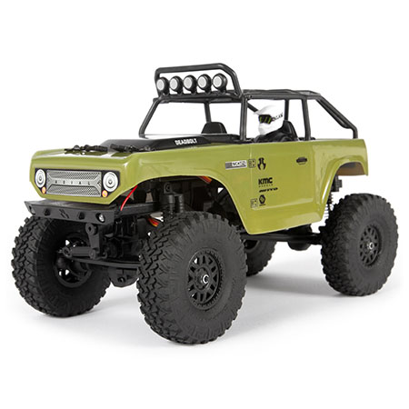 Axial SCX24 Deadbolt 1/24th Scale Elec 4WD - RTR, Green