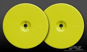 "Pro-line Velocity 2.2"" rear yellow wheels for B4"
