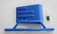 Front bumper & skid plate - blue