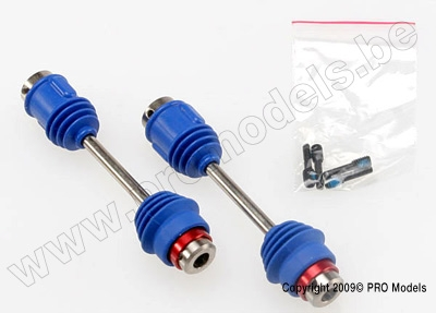 Driveshafts, center E-Maxx (steel constant-velocit