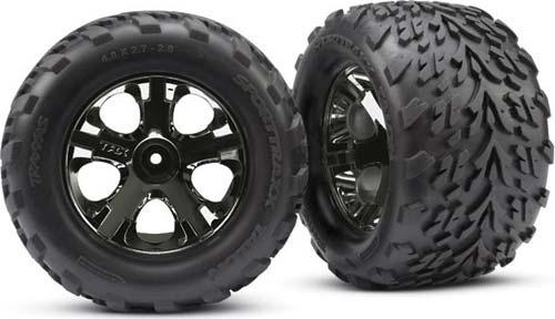 "Tires & wheels, assembled, glued (2.8"")"