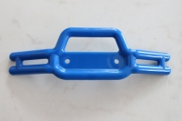 Tubular front bumper blue