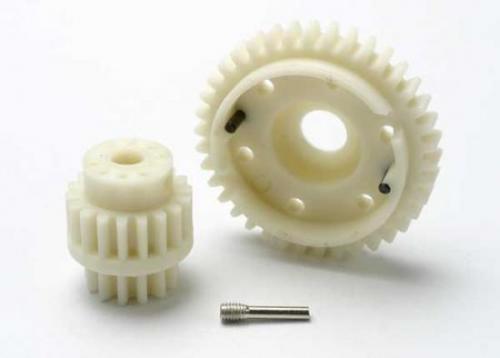 Gear set, 2-speed wide ratio