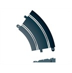 Scalextric Rad 2 Banked Curve 45° (2st)