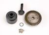 Ring gear, 37-T/ 13-T pinion/ diff carrier