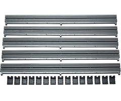 Scalextric Barrier / Clips pack