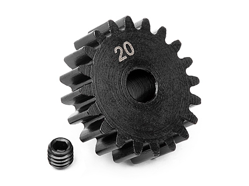Pinion gear 20 tooth (1M / 5mm shaft)