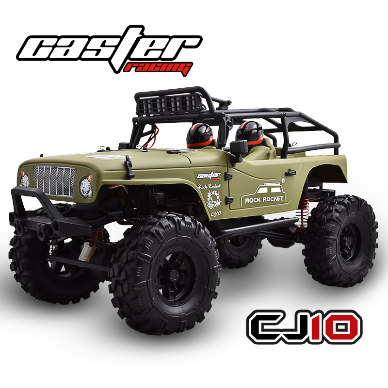 CASTER 1/10 Crawler Jeep-Green