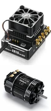 Hobbywing Combo XR10 Pro V4 +G3 6.5T motor