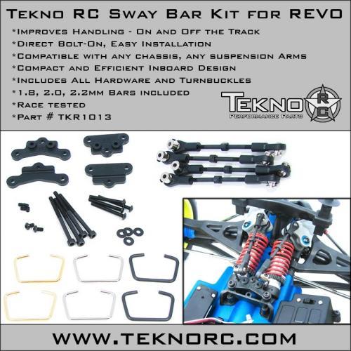 Tekno RC swaybar kit for Revo