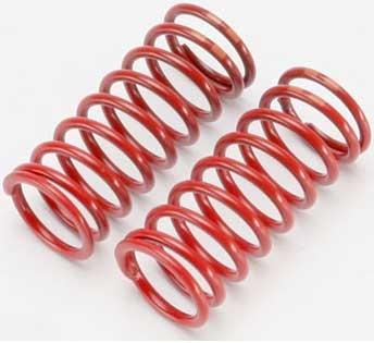 Spring, shock (red) (long) (GTR)