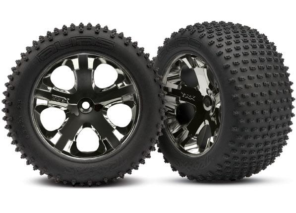 Traxxas All-Star black chrome wheels