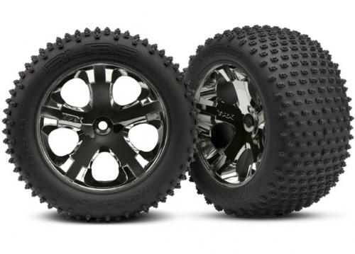 Traxxas All-Star black chrome wheels
