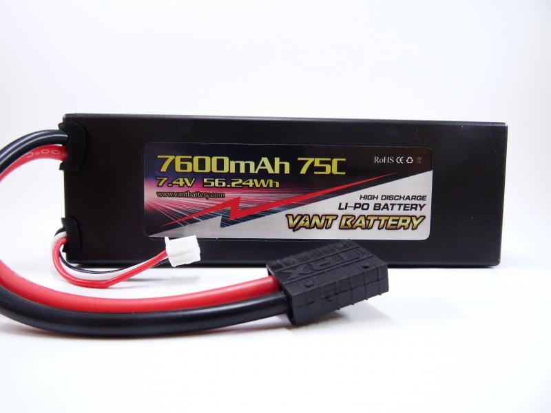 Vant Battery 7.4V 7600mah 75C