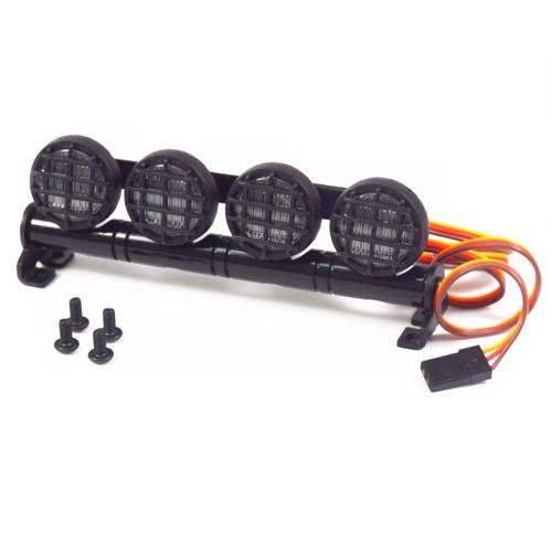 Led round roof light 5 spotlight for 1/10 crawler