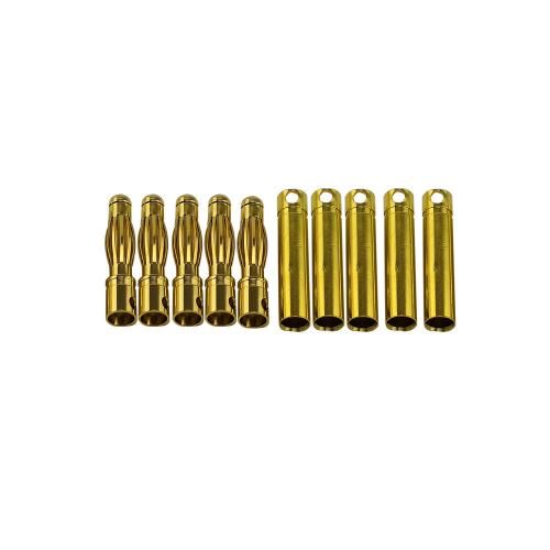 4.0mm Gold plated banana plug male&female 5pairs