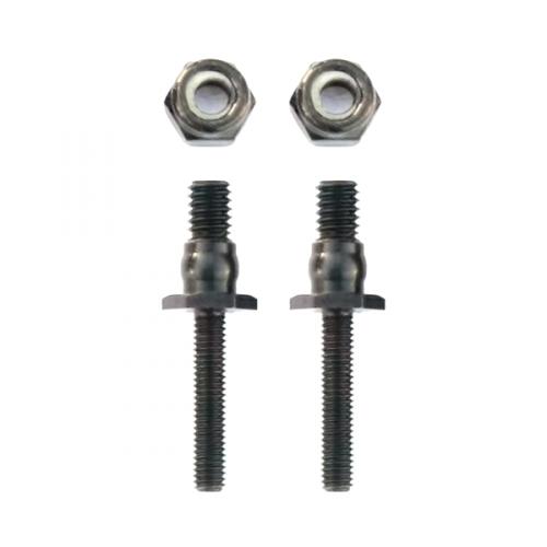 CNC shock mounts posts