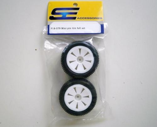 Mini pin tire full set Swedish Edition