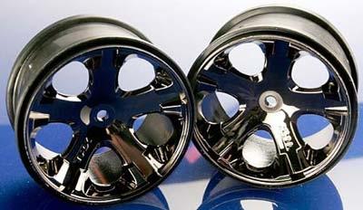 "Wheels, All-Star 2.8"" (black chrome)"