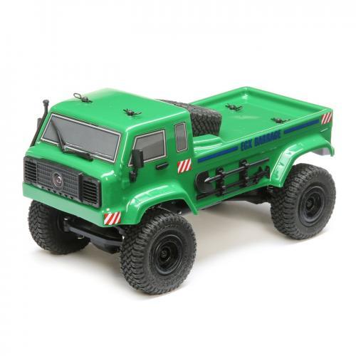 ECX 1/24 Barrage UV 4WD Scaler Crawler RTR FPV, Green