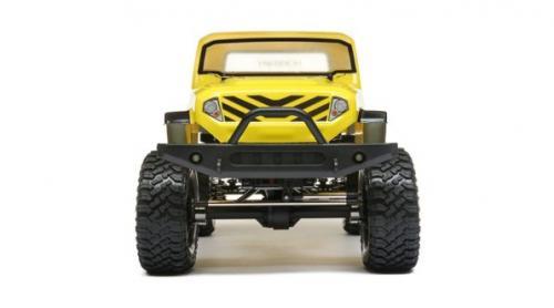 ECX 1/12 Barrage Gen2 1.55 4WD Scaler Brushed RTR: Yellow (ECX01013IT2)