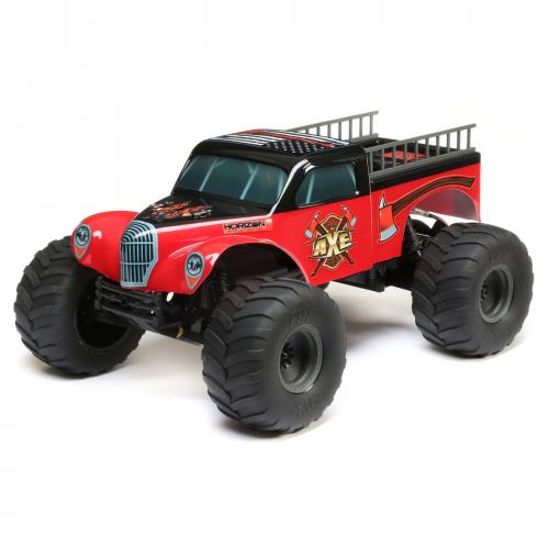 ECX 1/10 Axe 2WD Monster Truck Brushed RTR