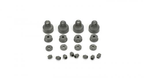 Shock Cap, Piston, Pivot Ball Set: All ECX 1/10 2WD