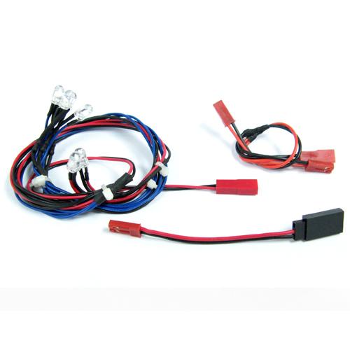 Yeah Racing Ultra Bright F/R LED Light Kit for 1/10 EP & GP (B