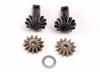 Diff gear set: 13-T output gear shafts (2)