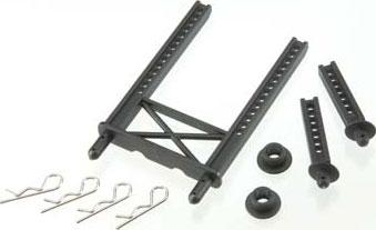 Body mount, rear/ body mount posts