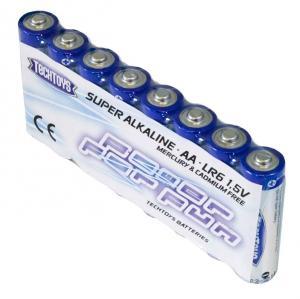 TechToys Alkaline AA/LR6 8-pack