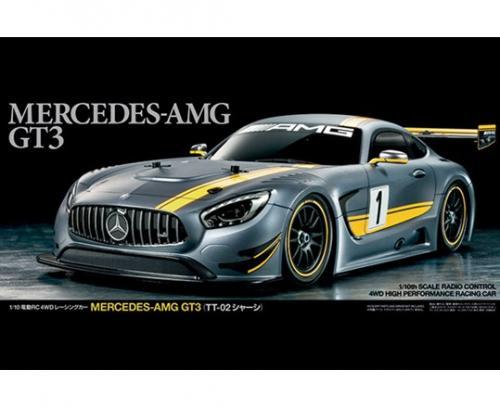 TAMIYA MERCEDES AMG GT3 (TT-02)