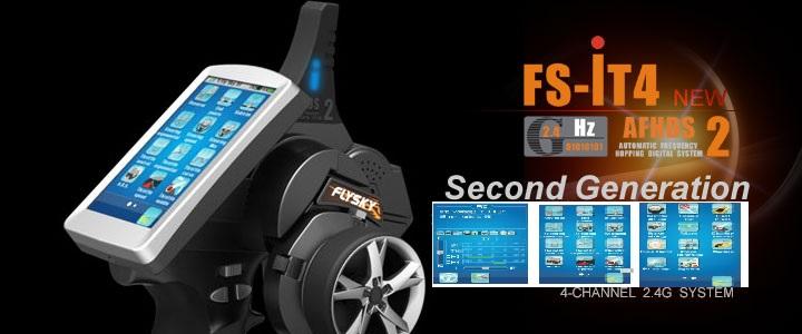 Fly-Sky FS-iT4 2.4ghz 4 channel radio