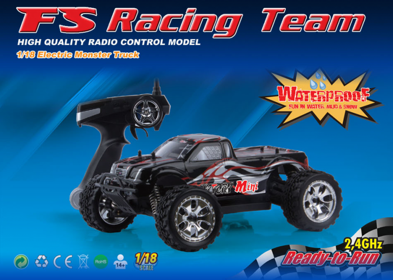 FS-Racing 1/18 Brushless Monster Truck RTR