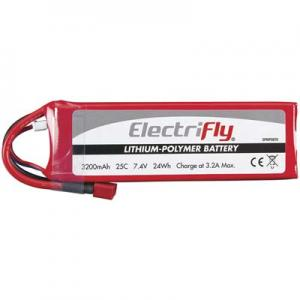 Li-Po Batteri 2S 7,4V 3200mAh 25C T-Kontakt/Deans