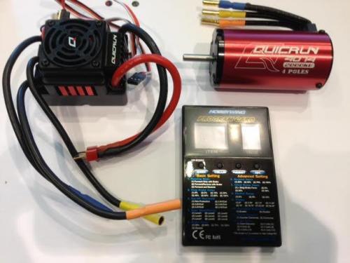 Hobbywing 1:8 system 150A+2000KV WP