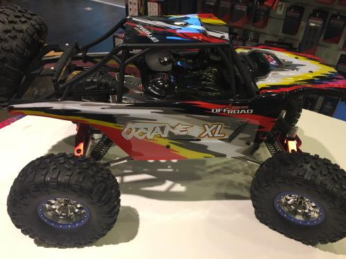 KYX RC CAR WRAITH WITH BODY Paketlösning