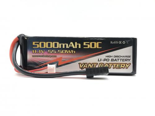 Vant 11.1v 50C 5000mah soft case battery TRX