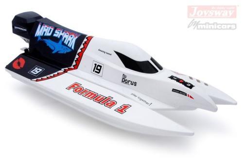 Mad Shark F1 båt 2.4G RTR Borstlös