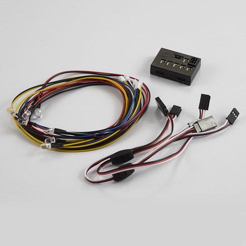 KILLERBODY LED LIGHT SYSTEM W/CONTROL BOX (8 LEDS)