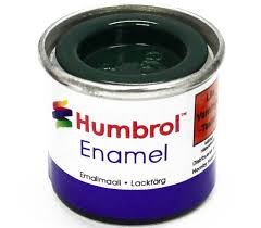 Humbrol Enamel NO1 Brunswick Green 3