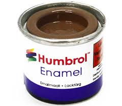 Humbrol Enamel No1 Gloss Tan