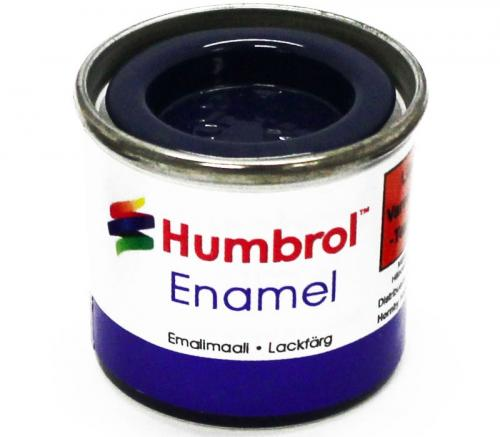 Humbrol Enamel No1 Gloss Midnight Blue 15