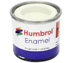 Humbrol Enamel NO1 Gloss White 22