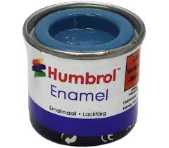 Humbrol Enamel NO1 Gloss Mediterranean Blue 48