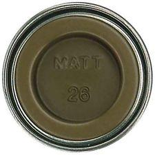 Humbrol Enamel NO1 Matt Khaki 26