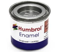 Humbrol Enamel NO1 Aluminium 56