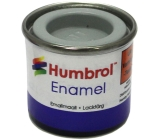 Humbrol Enamel NO1 Matt Grey 64