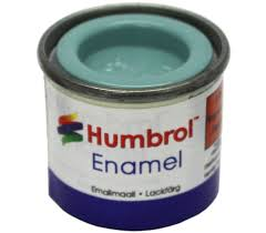 Humbrol Enamel NO1 Matt Aircraft Blue 65